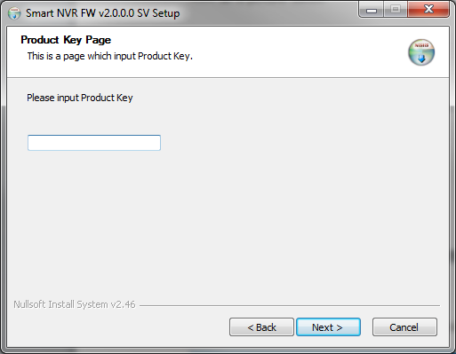 5) Enter a Product Key, click Next to continue You can generate a product key with a coupon code at www.goodskey.