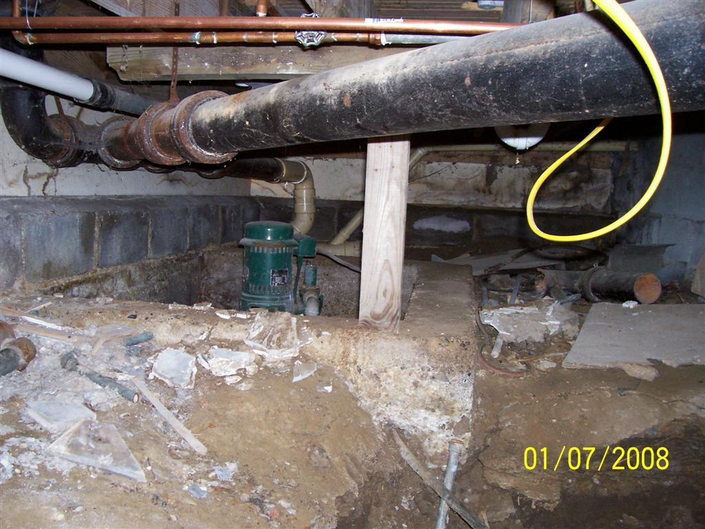 Septic Tank Location This unplugged well was found 42 away from