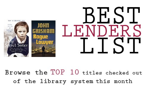 Rogue Lawyer by John Grisham has been on top of the fiction list since January, while My Secret Sister by Helen Edwards has dominated the Non-Fiction category since October!