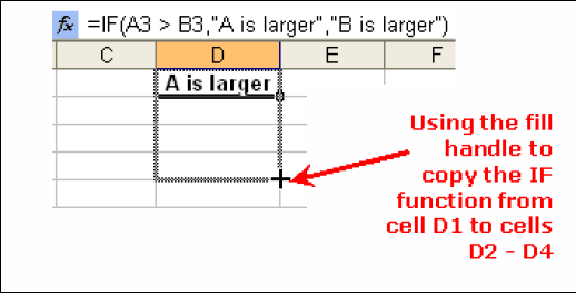 TIP: If you don t remember the IF function, Click on Formulas Tab Click on the button Insert