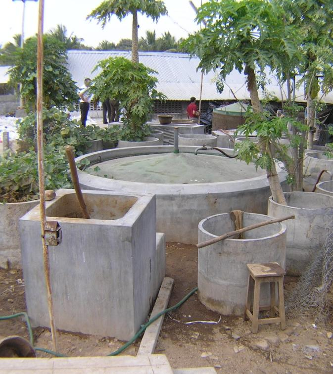Indian advantages: > 50 years of experience of biogas production from manure More than 4