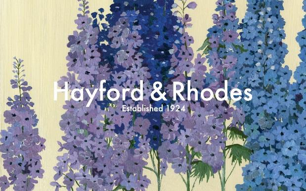 Flowers Hayford and Rhodes Established in 1924, Hayford & Rhodes is a historic family florist with a rich heritage of designing flowers for London s most prestigious clients.