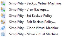 granularity centricity of all operations Backup Clone Move Restore Easy to create