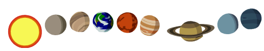 THE PLANETS NAME DATE Size and Composition