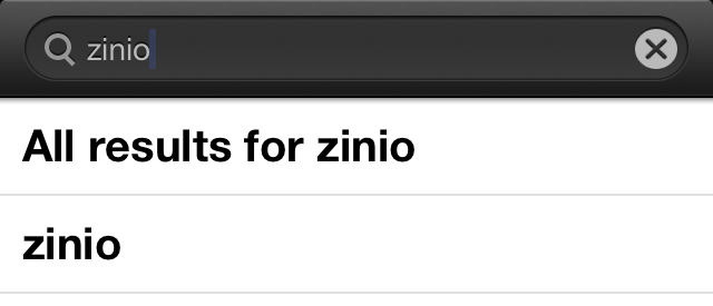 "jsp b) For your Apple Device (Mac, ipad, iphone) Type zinio into your App Store and install: 1. Open the ""Apple App Store"" on your Apple Device 2."