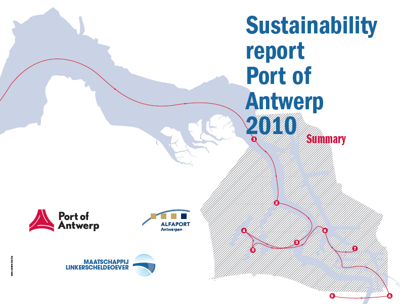 30 THE PORT OF ANTWERP, LEADER IN SUSTAINABILITY Economic growth in balance with people & planet Joint efforts