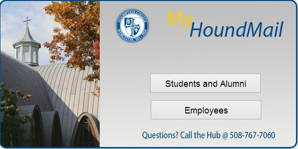 Click on Students and Alumni (or ) ) Now you will log in to your assumption email account.