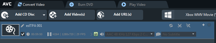 Adding your video file to be compressed To add a file to be compressed there are two options. The first is to click the Add Videos button in the menu at the top of the screen.
