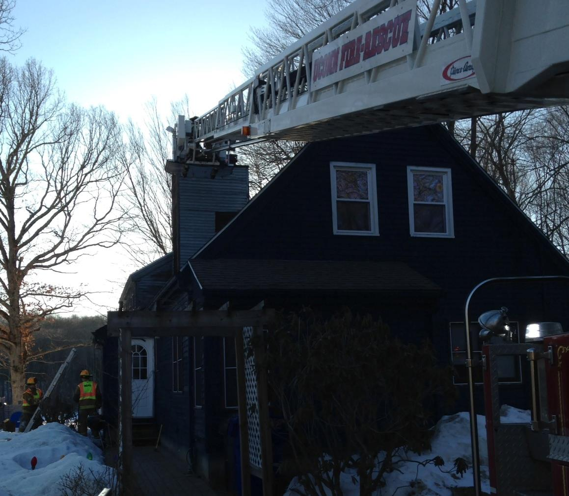 Safe Operations 3-22-15 Pitch of the roof Chimney in the middle of the