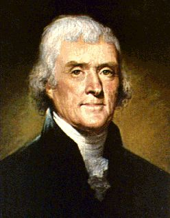 Thomas Jefferson Background Information: Thomas Jefferson was born in Virginia in 1743. When his father died in 1757, Jefferson inherited a great deal of property.