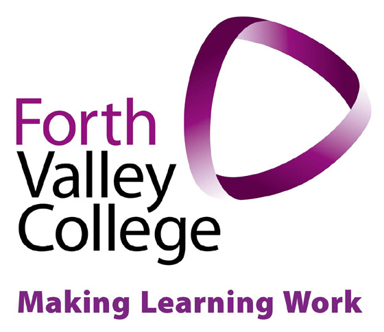 The Identity Below, is the Forth Valley College master logo. Take a little time to familiarise yourself with the different elements that make up the identity.