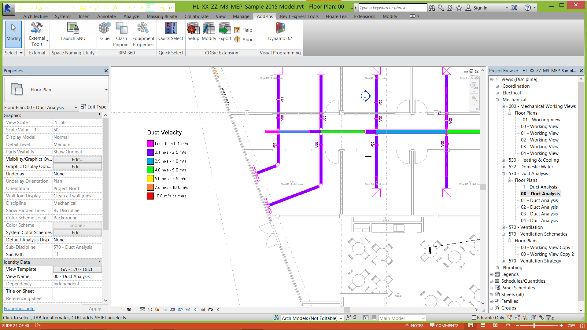 Using BIM Models for MEP Systems Design Add-ins Lots of software companies are