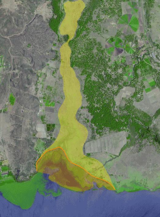 Location and object of the project Original Swamp Gilgil river Malewa river Residual