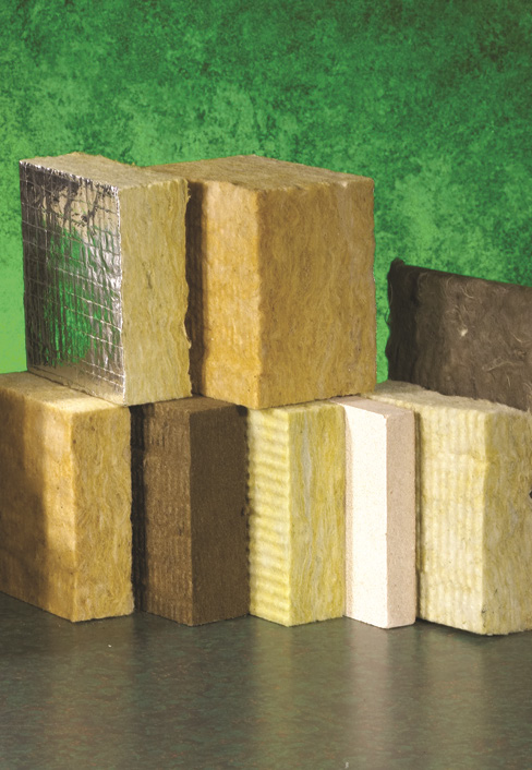 Mineral wool board environmental product declaration for Mineral fiber board insulation