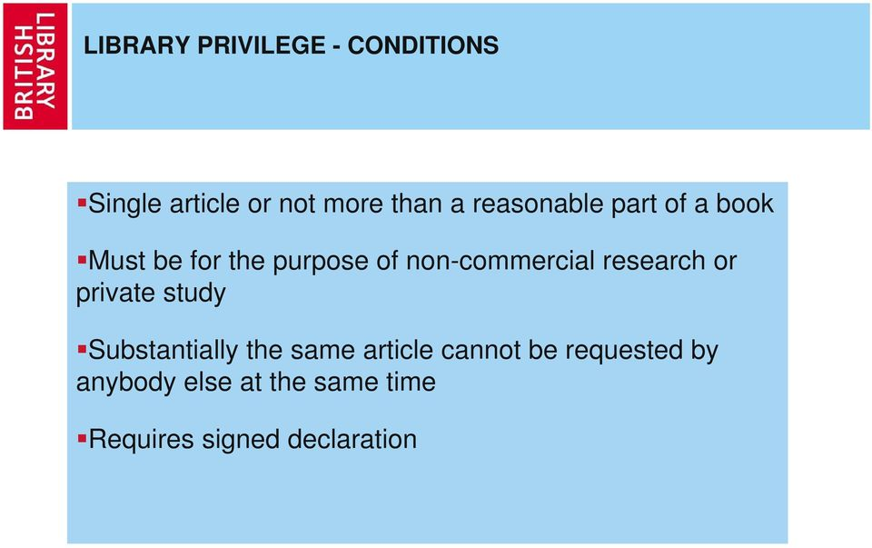 research or private study Substantially the same article cannot be