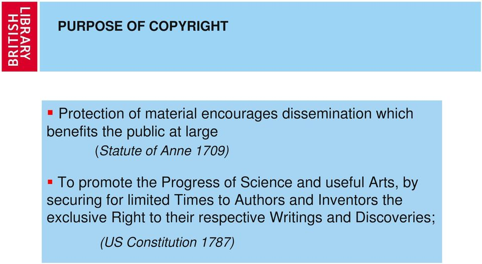 Science and useful Arts, by securing for limited Times to Authors and Inventors