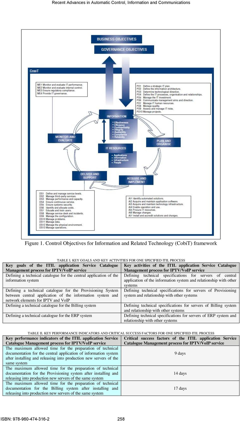Management process for Defining a technical catalogue for the central application of the Defining technical specifications for servers of central information system application of the information