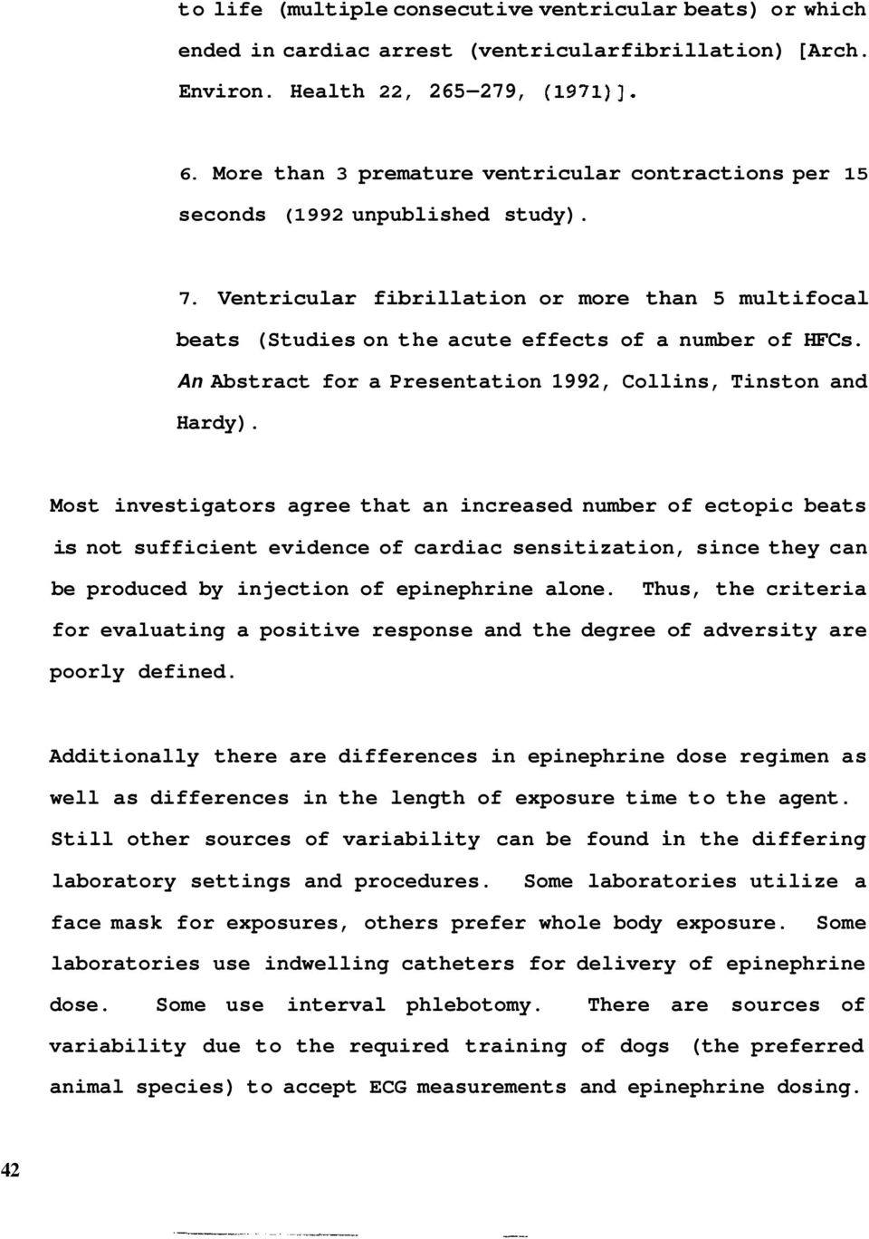 An Abstract for a Presentation 1992, Collins, Tinston and Hardy).