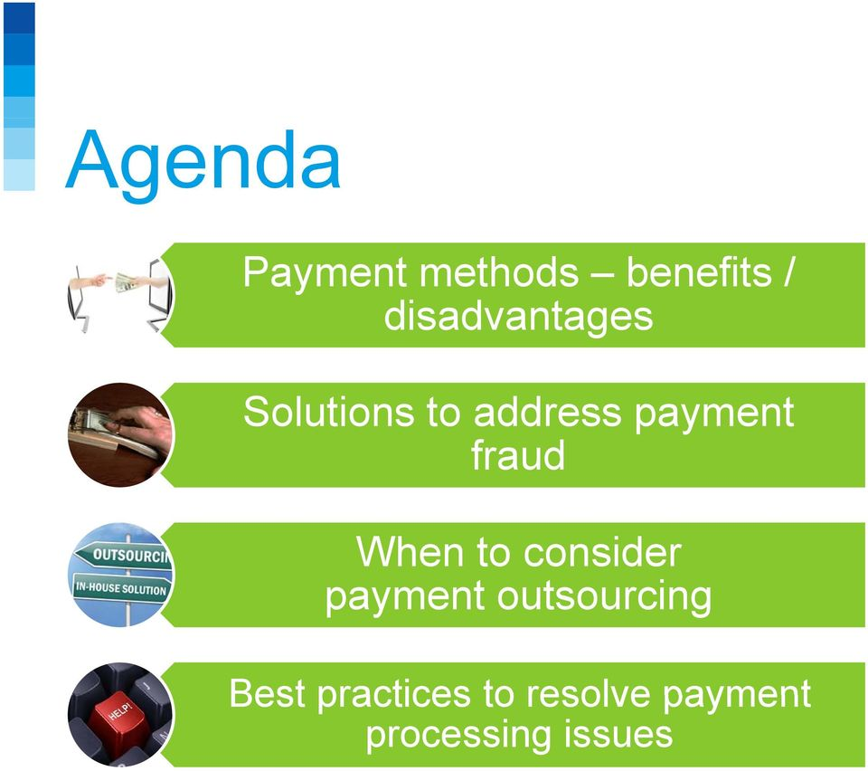 payment outsourcing Best practices to resolve
