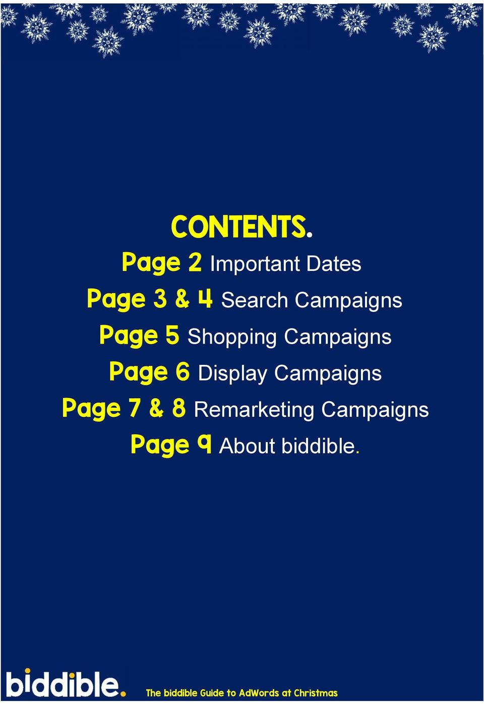 Campaigns Page 5 Shopping Campaigns Page
