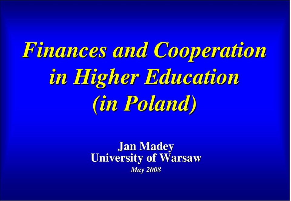 Education (in Poland)
