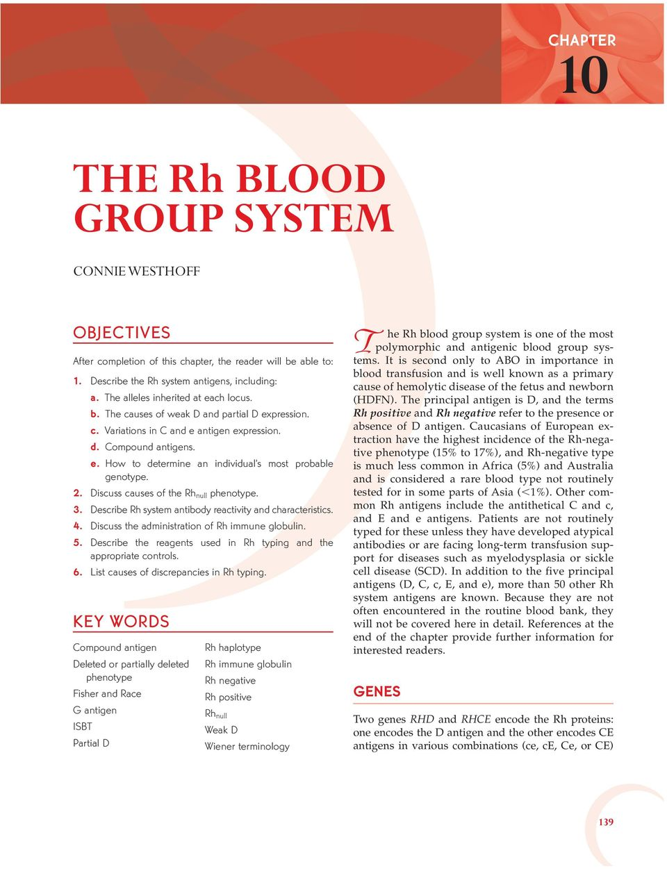2. Discuss causes of the Rh null phenotype. 3. Describe Rh system antibody reactivity and characteristics. 4. Discuss the administration of Rh immune globulin. 5.