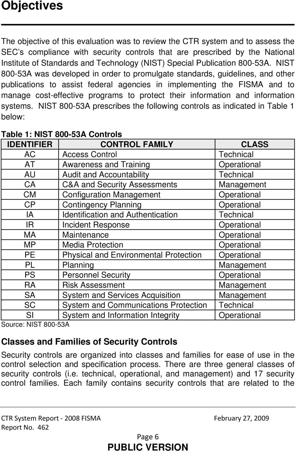 NIST 800-53A was developed in order to promulgate standards, guidelines, and other publications to assist federal agencies in implementing the FISMA and to manage cost-effective programs to protect