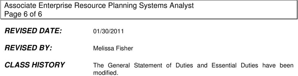 Fisher The General Statement of