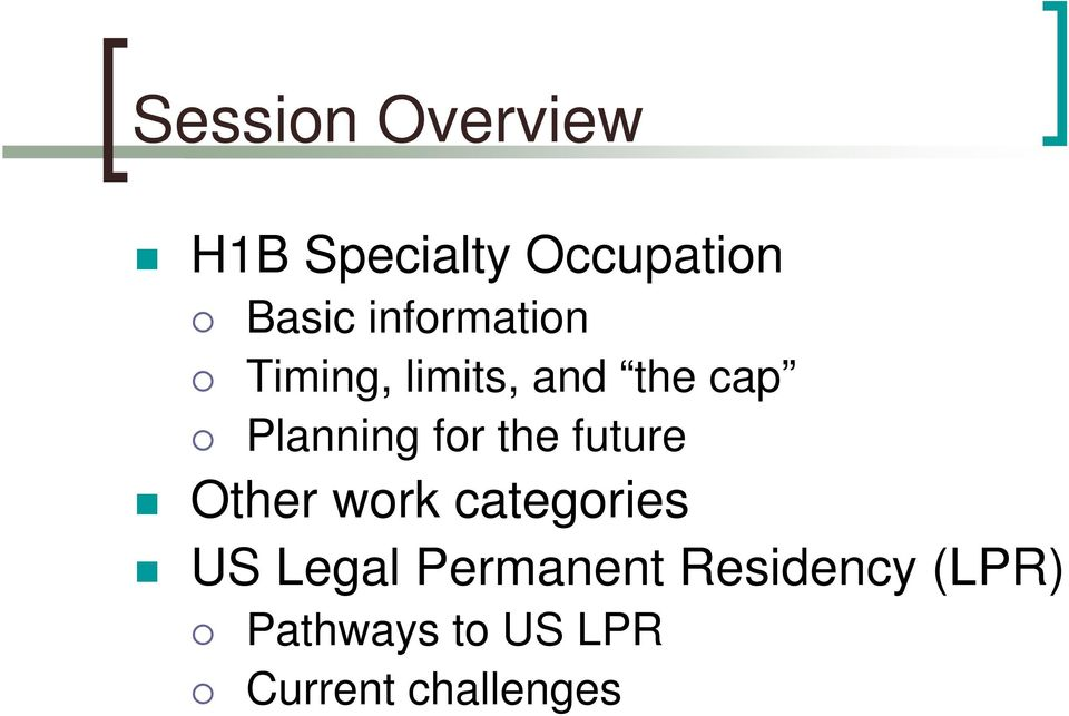 for the future Other work categories US Legal