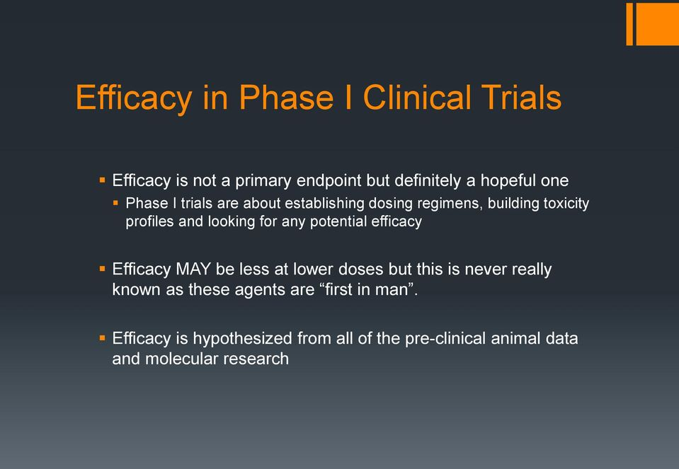 potential efficacy Efficacy MAY be less at lower doses but this is never really known as these agents