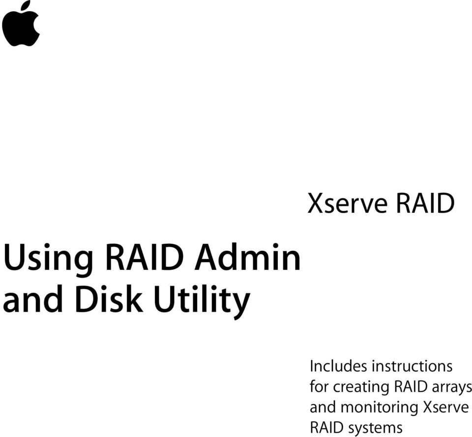 instructions for creating RAID
