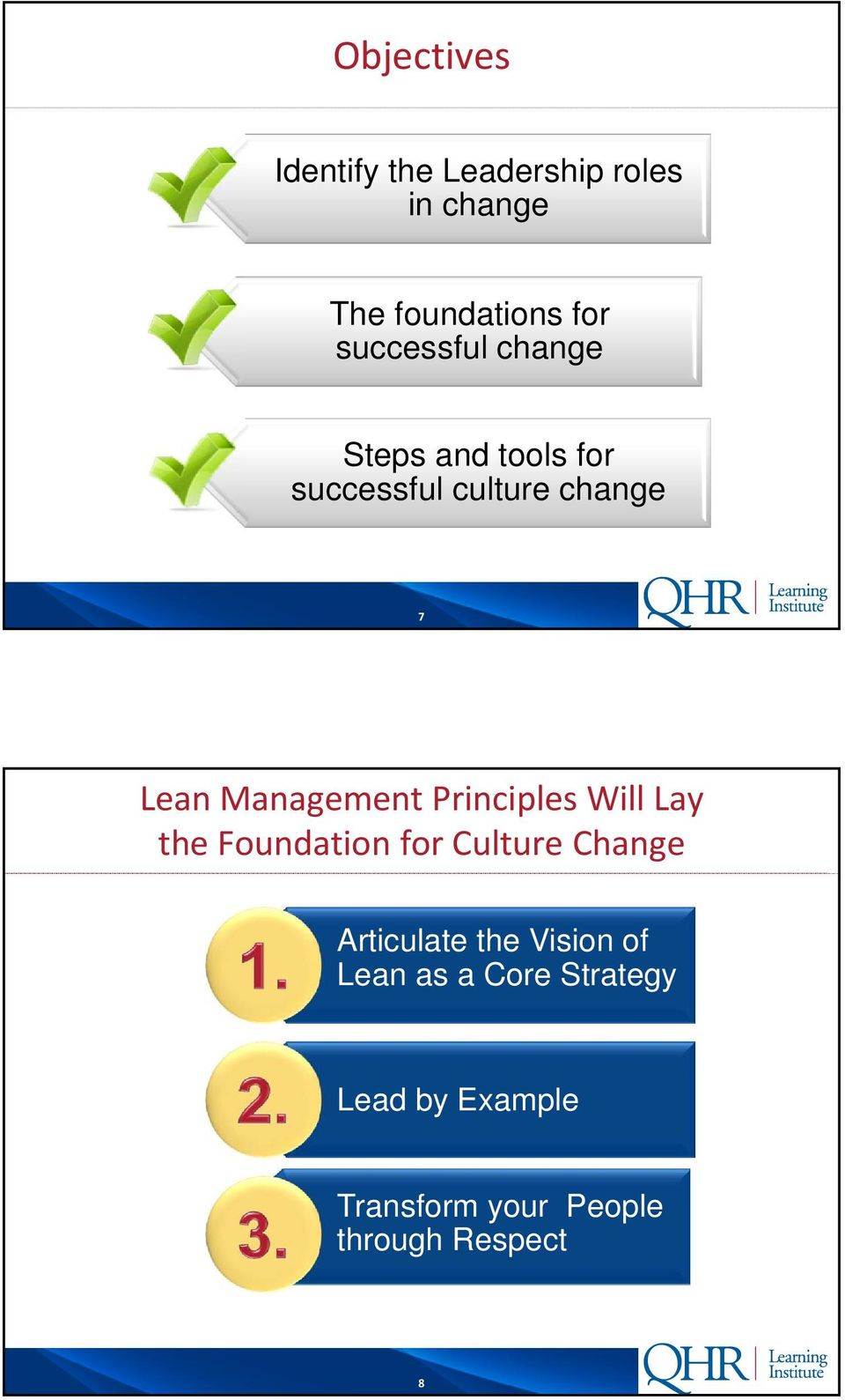 Management Principles Will Lay the Foundation for Culture Change Articulate