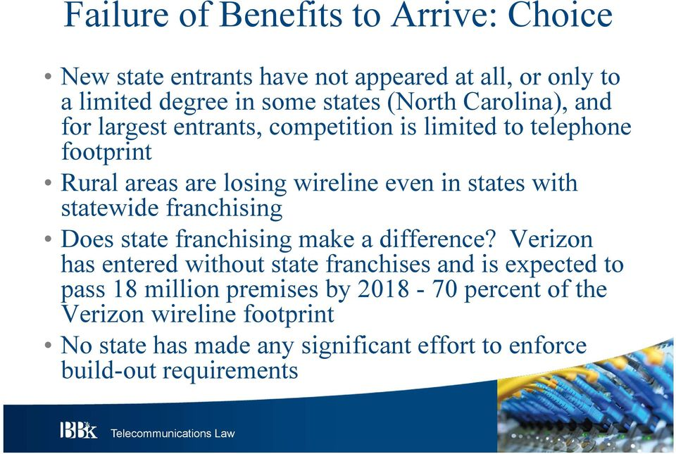statewide franchising Does state franchising make a difference?