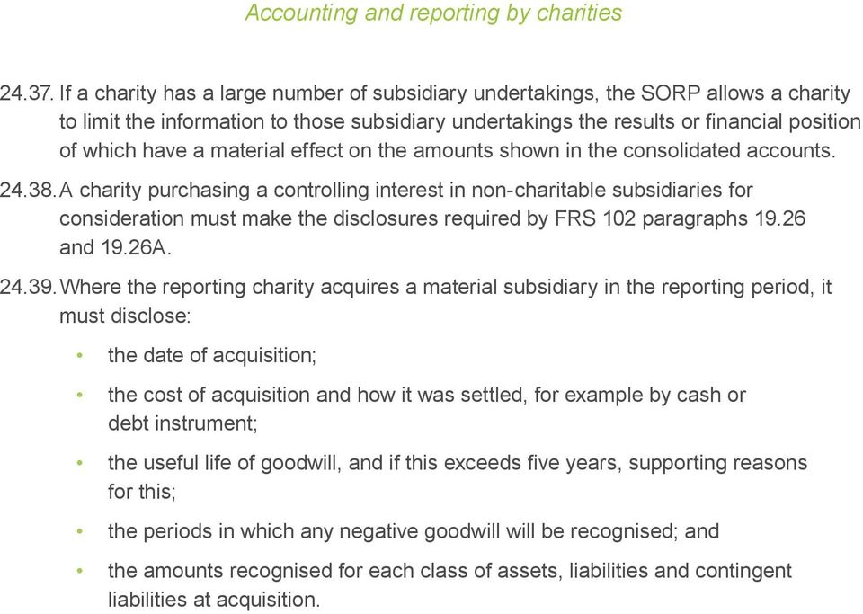 material effect on the amounts shown in the consolidated accounts. 24.38.