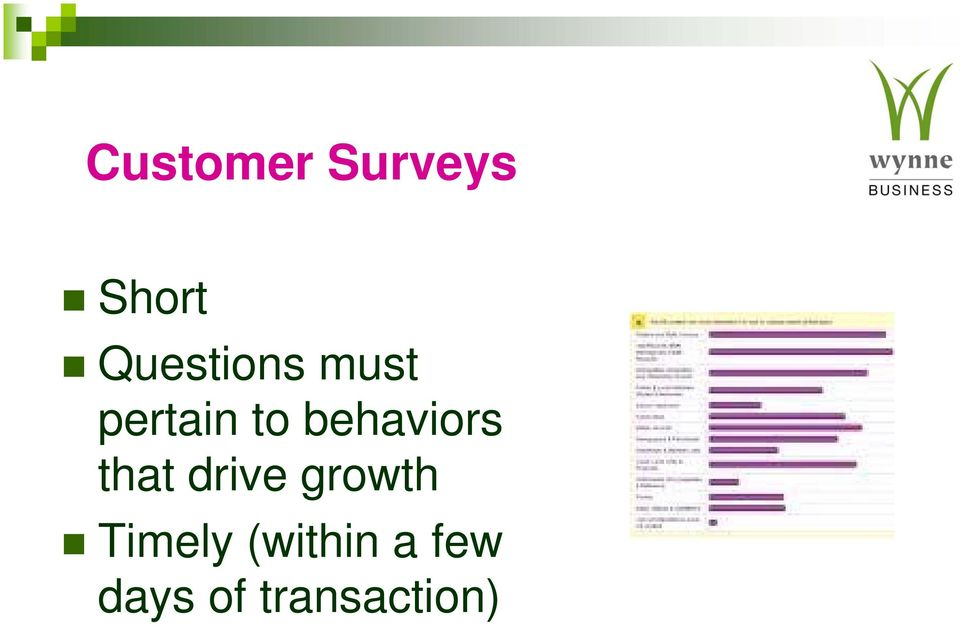 behaviors that drive growth