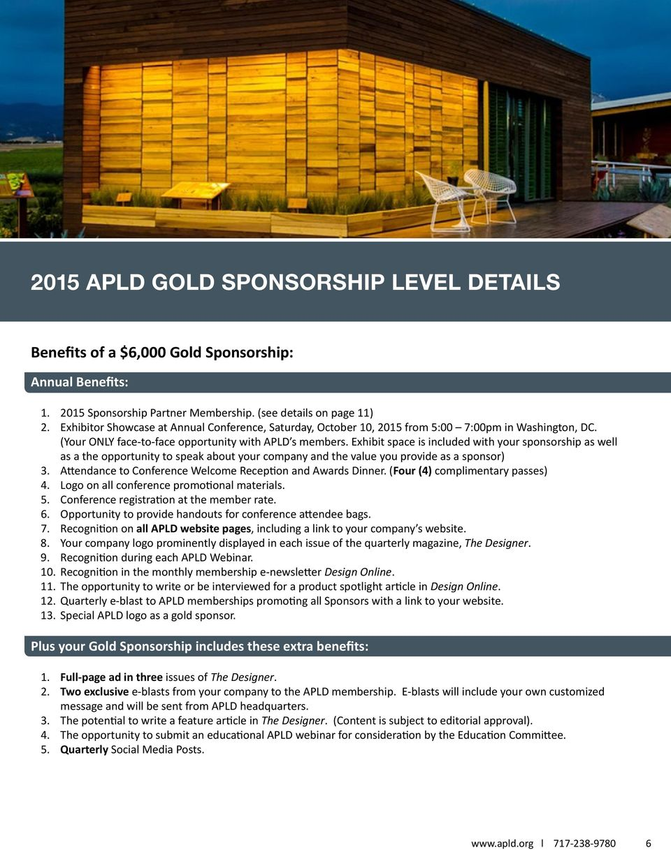 Exhibit space is included with your sponsorship as well as a the opportunity to speak about your company and the value you provide as a sponsor).