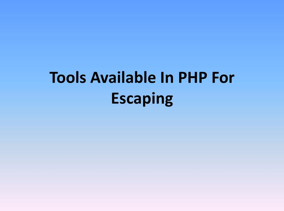 In PHP