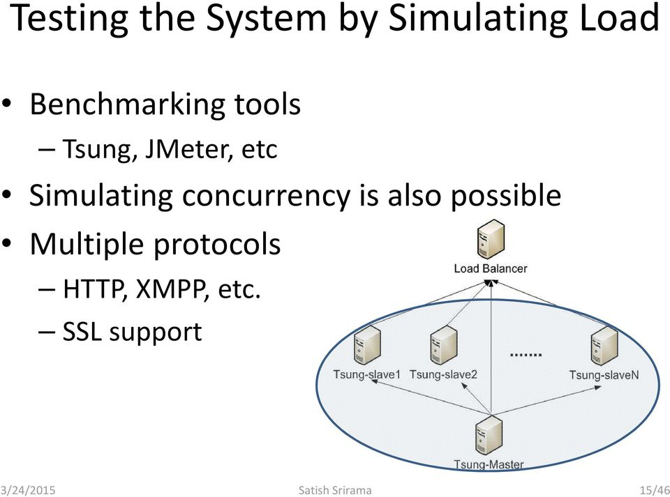 concurrency is also possible Multiple protocols