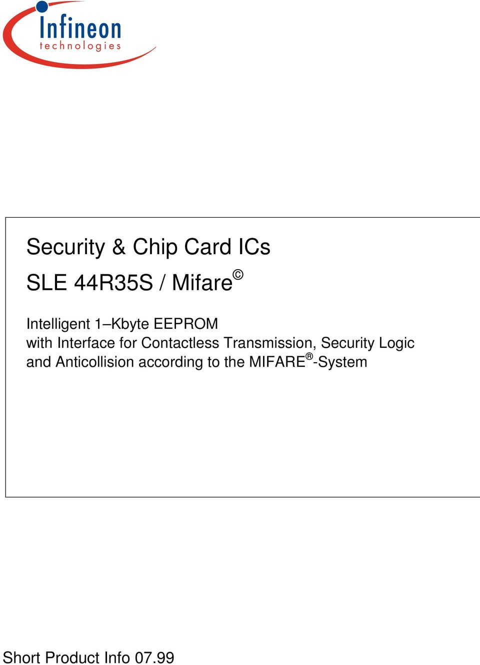 Contactless Transmission, Security Logic and