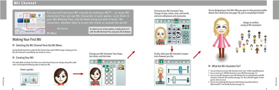 Wii Operations Manual Channels and Settings - PDF