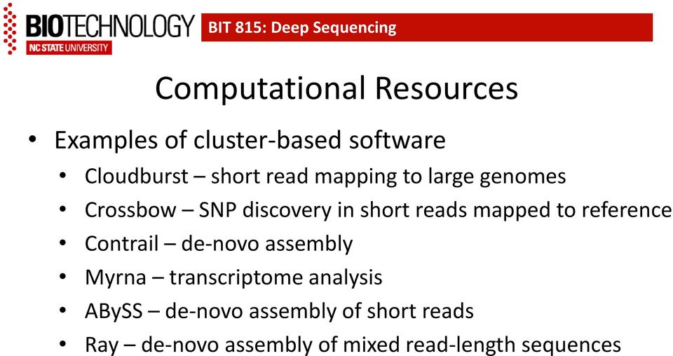 to reference Contrail de-novo assembly Myrna transcriptome analysis ABySS