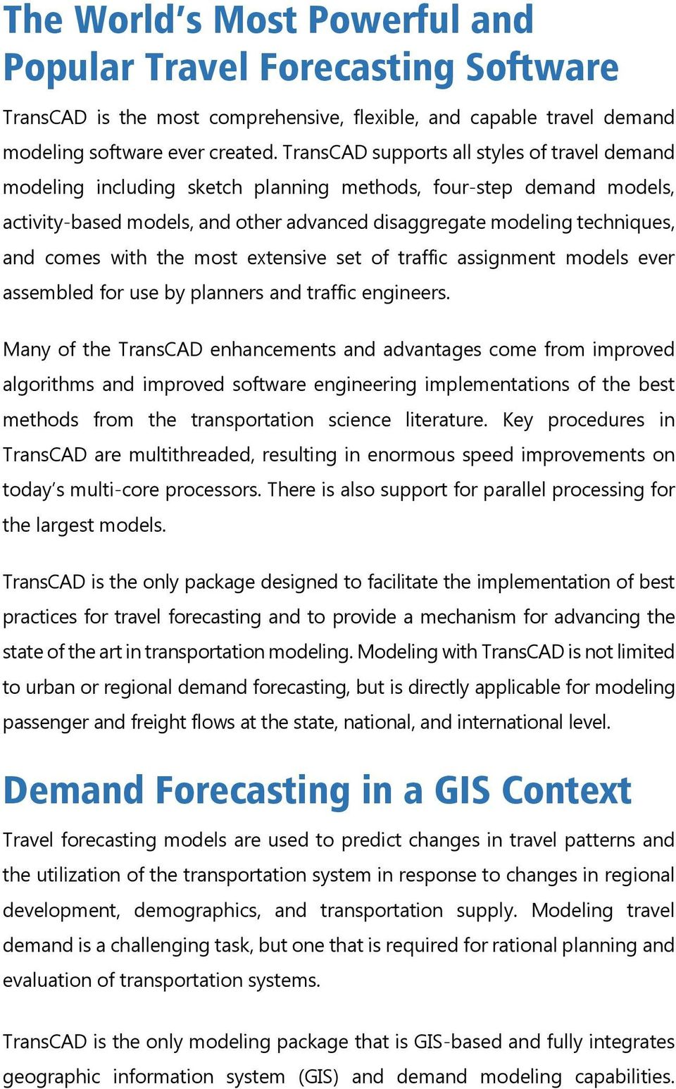 The World s Most Powerful and Popular Travel Forecasting