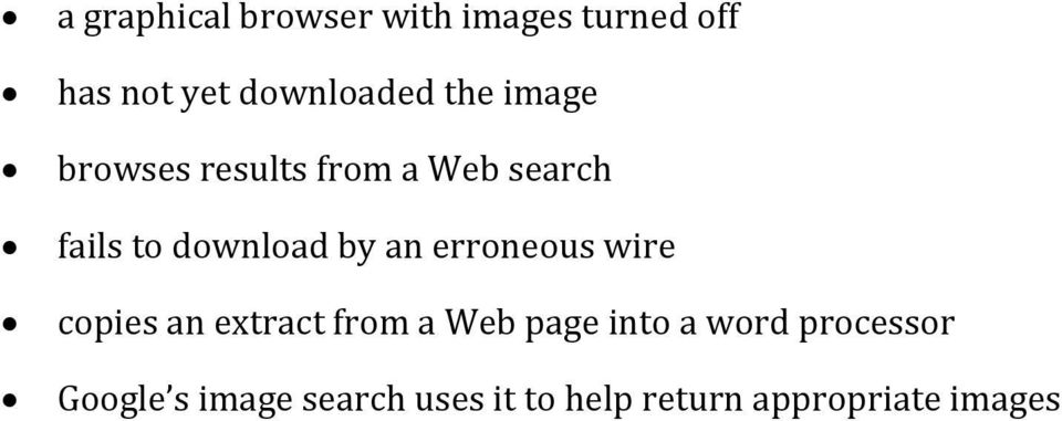 an erroneous wire copies an extract from a Web page into a word