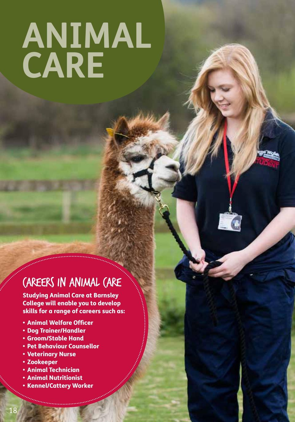 Barnsley College  Full-time and Apprenticeship Guide Tel