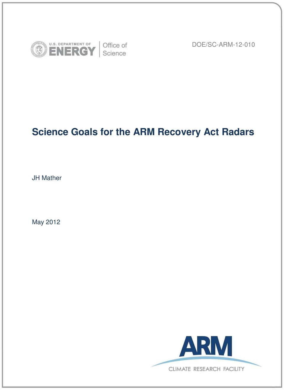 the ARM Recovery Act