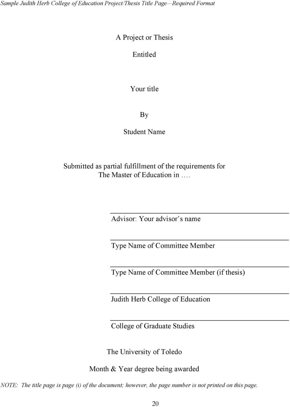 student handbook for dissertation and thesis preparation