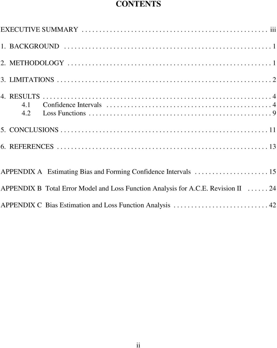 ..13 APPENDIX A Estimating Bias and Forming Confidence Intervals.