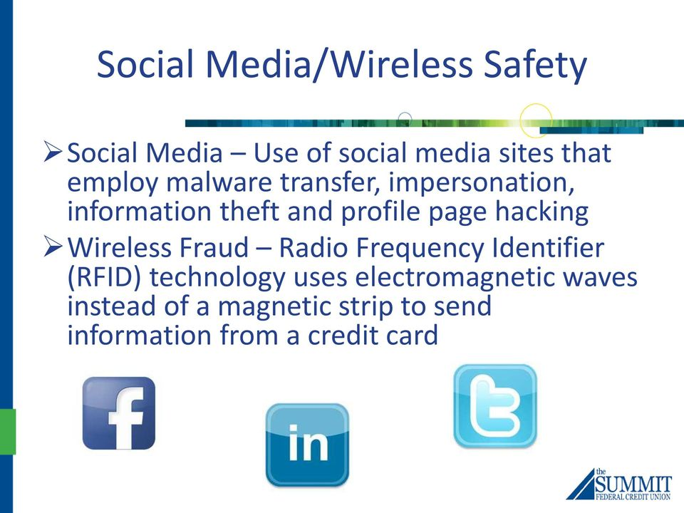 hacking Wireless Fraud Radio Frequency Identifier (RFID) technology uses
