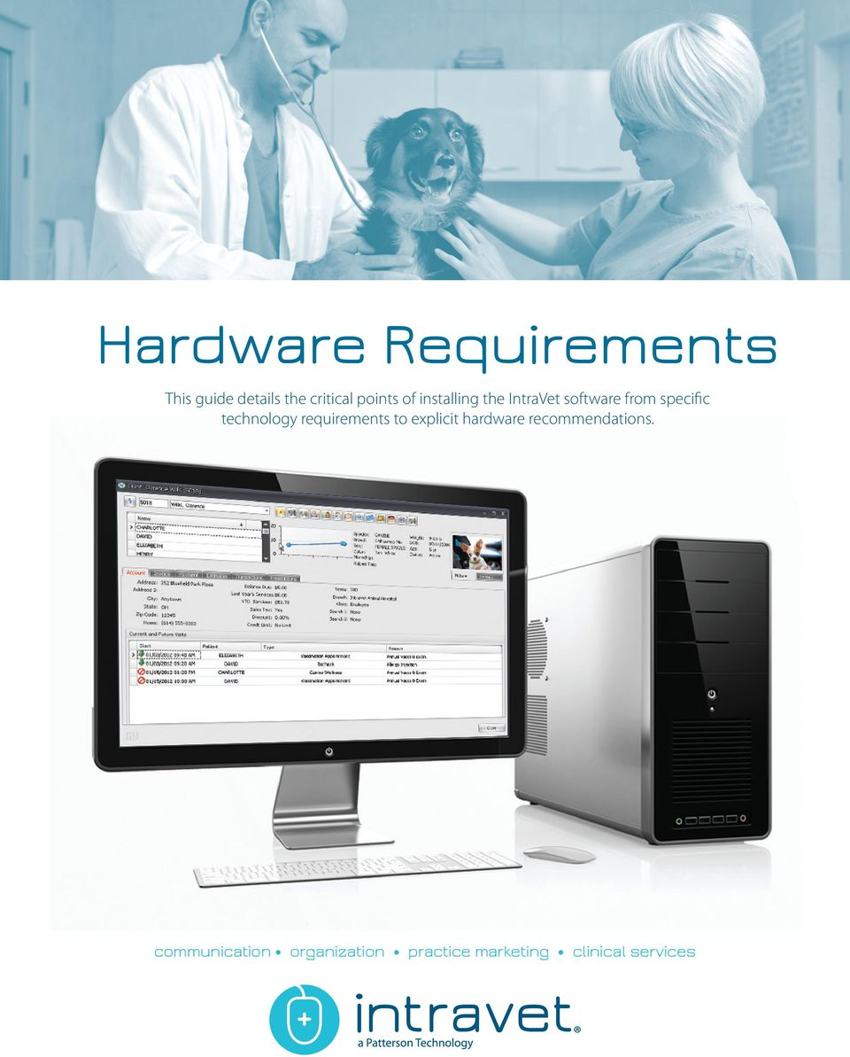 technology requirements to explicit hardware