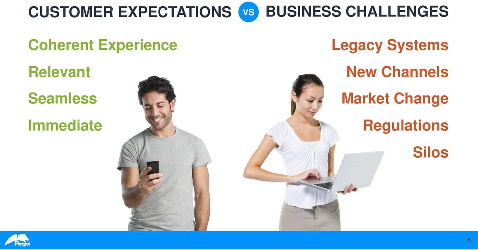 VS BUSINESS CHALLENGES Legacy Systems